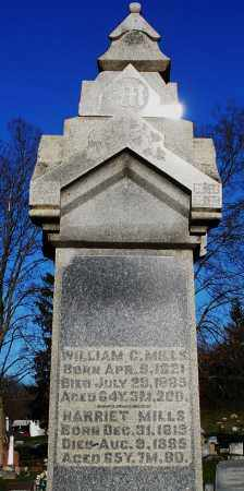 MILLS, WILLIAM C. - Preble County, Ohio | WILLIAM C. MILLS - Ohio Gravestone Photos