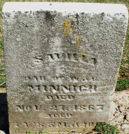 MINNICH, SAMILLA - Preble County, Ohio | SAMILLA MINNICH - Ohio Gravestone Photos