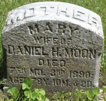 MOON, MARY - Preble County, Ohio | MARY MOON - Ohio Gravestone Photos