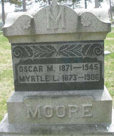 MOORE, OSCAR M. - Preble County, Ohio | OSCAR M. MOORE - Ohio Gravestone Photos