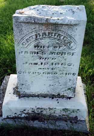 MORSE, CATHERINE A. - Preble County, Ohio | CATHERINE A. MORSE - Ohio Gravestone Photos