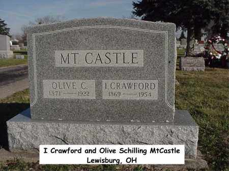 MTCASTLE, OLIVE - Preble County, Ohio | OLIVE MTCASTLE - Ohio Gravestone Photos