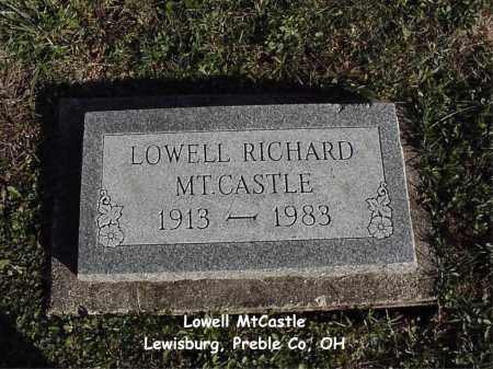 MTCASTLE, LOWELL - Preble County, Ohio | LOWELL MTCASTLE - Ohio Gravestone Photos