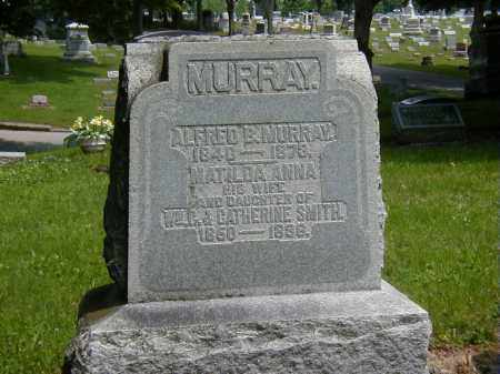 MURRAY, MATILDA ANNA - Preble County, Ohio | MATILDA ANNA MURRAY - Ohio Gravestone Photos