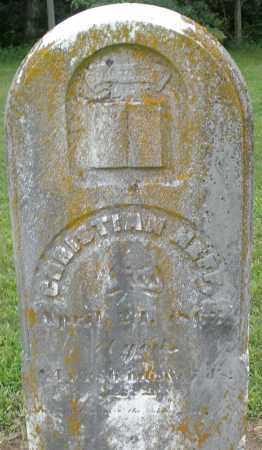 NEFF, CHRISTIAN - Preble County, Ohio | CHRISTIAN NEFF - Ohio Gravestone Photos