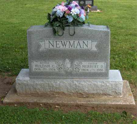 NEWMAN, HULDAH - Preble County, Ohio | HULDAH NEWMAN - Ohio Gravestone Photos