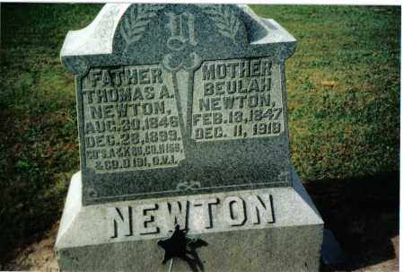 NEWTON, BEULAH - Preble County, Ohio | BEULAH NEWTON - Ohio Gravestone Photos