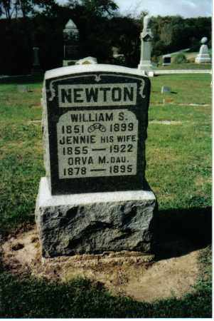 NEWTON, JENNIE - Preble County, Ohio | JENNIE NEWTON - Ohio Gravestone Photos
