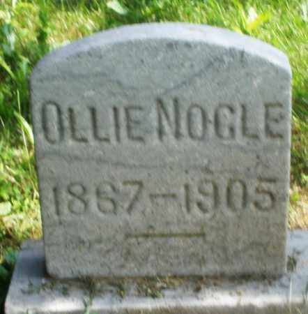 NOGLE, OLLIE - Preble County, Ohio | OLLIE NOGLE - Ohio Gravestone Photos