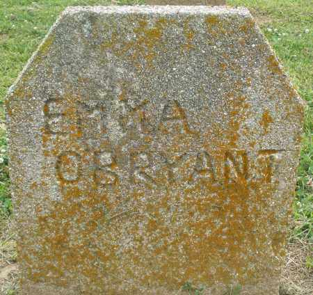 O'BRYANT, EMMA - Preble County, Ohio | EMMA O'BRYANT - Ohio Gravestone Photos
