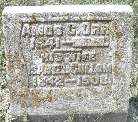 ORR, AMOS - Preble County, Ohio | AMOS ORR - Ohio Gravestone Photos