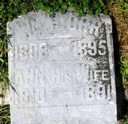 ORR, WILLIAM H. - Preble County, Ohio | WILLIAM H. ORR - Ohio Gravestone Photos