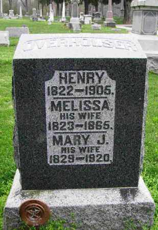 OVERHOLSER, HENRY - Preble County, Ohio | HENRY OVERHOLSER - Ohio Gravestone Photos