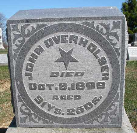 OVERHOLSER, JOHN - Preble County, Ohio | JOHN OVERHOLSER - Ohio Gravestone Photos