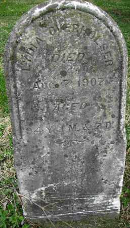 BROWER OVERHOLSER, LYDIA - Preble County, Ohio | LYDIA BROWER OVERHOLSER - Ohio Gravestone Photos
