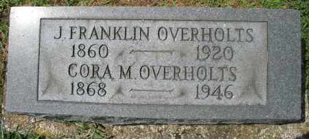 OVERHOLTS, CORA M. - Preble County, Ohio | CORA M. OVERHOLTS - Ohio Gravestone Photos