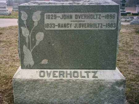 OVERHOLTZ(S), NANCY - Preble County, Ohio | NANCY OVERHOLTZ(S) - Ohio Gravestone Photos
