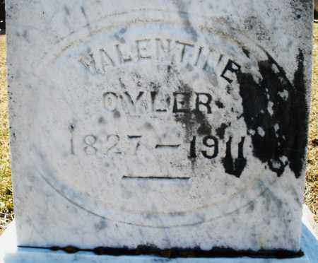 OYLER, VALENTINE - Preble County, Ohio | VALENTINE OYLER - Ohio Gravestone Photos