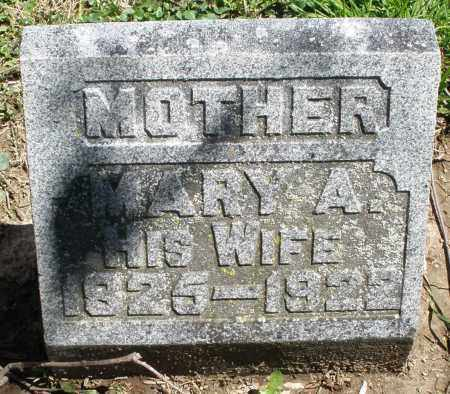 OZIAS, MARY A. - Preble County, Ohio | MARY A. OZIAS - Ohio Gravestone Photos