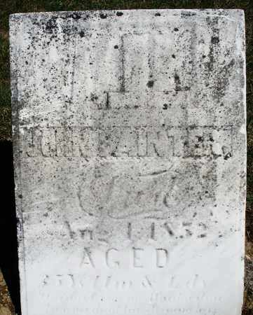 PAINTER, JOHN - Preble County, Ohio | JOHN PAINTER - Ohio Gravestone Photos