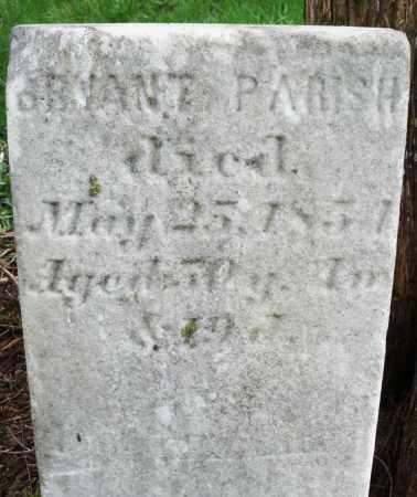 PARISH, BRYANT - Preble County, Ohio | BRYANT PARISH - Ohio Gravestone Photos