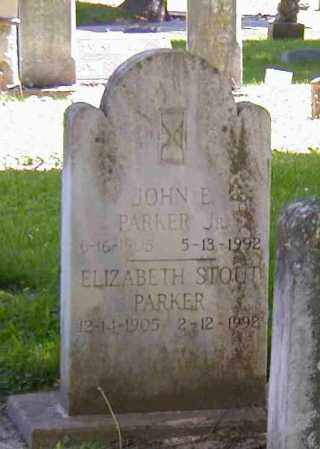 PARKER, ELIZABETH STOUT - Preble County, Ohio | ELIZABETH STOUT PARKER - Ohio Gravestone Photos