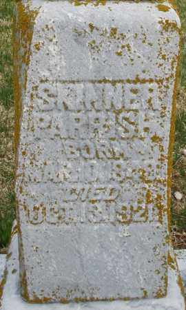 PARRISH, SKINNER - Preble County, Ohio | SKINNER PARRISH - Ohio Gravestone Photos