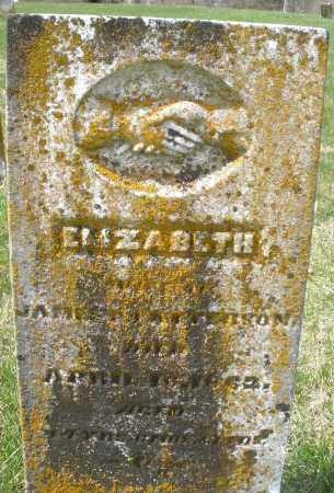 PATTERSON, ELIZABETH - Preble County, Ohio | ELIZABETH PATTERSON - Ohio Gravestone Photos