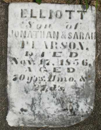 PEARSON, ELLIOTT - Preble County, Ohio | ELLIOTT PEARSON - Ohio Gravestone Photos