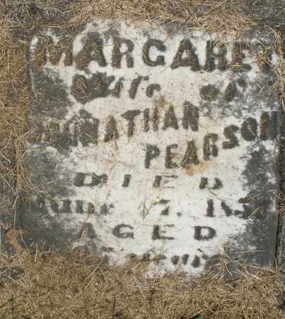 PEARSON, MARGARET - Preble County, Ohio | MARGARET PEARSON - Ohio Gravestone Photos