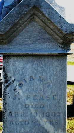 PEASE, DIANA - Preble County, Ohio   DIANA PEASE - Ohio Gravestone Photos