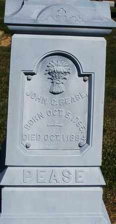 PEASE, JOHN C. - Preble County, Ohio | JOHN C. PEASE - Ohio Gravestone Photos