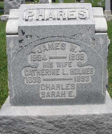 PHARES, JAMES W. - Preble County, Ohio | JAMES W. PHARES - Ohio Gravestone Photos