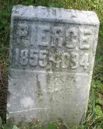 PIERCE, ? - Preble County, Ohio | ? PIERCE - Ohio Gravestone Photos