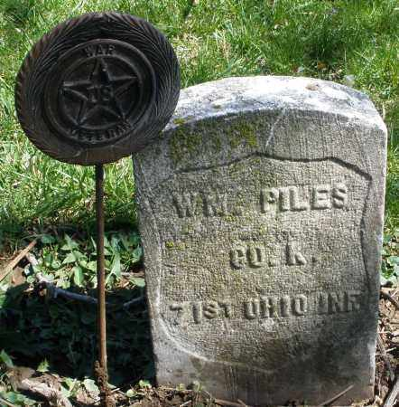 PILES, WILLIAM - Preble County, Ohio | WILLIAM PILES - Ohio Gravestone Photos