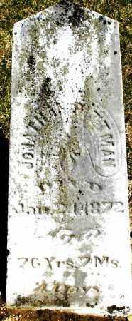 PITTMAN, JONATHAN - Preble County, Ohio   JONATHAN PITTMAN - Ohio Gravestone Photos