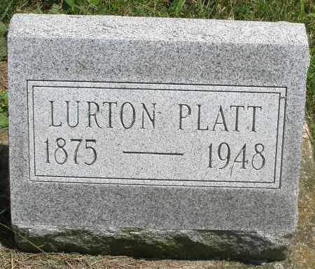 PLATT, LURTON - Preble County, Ohio | LURTON PLATT - Ohio Gravestone Photos