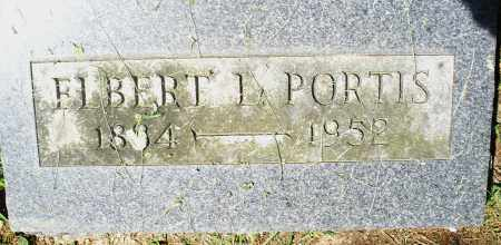 PORTIS, ELBERT L. - Preble County, Ohio | ELBERT L. PORTIS - Ohio Gravestone Photos