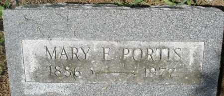 PORTIS, MARY E. - Preble County, Ohio | MARY E. PORTIS - Ohio Gravestone Photos