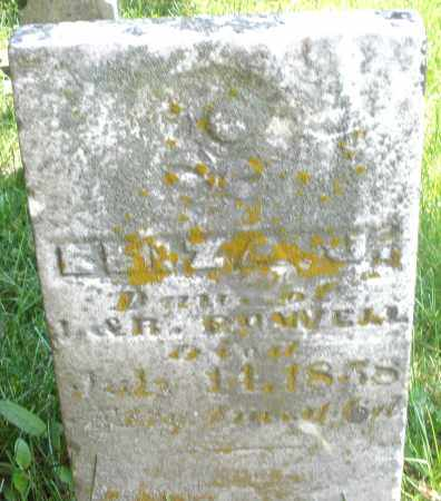 POWELL, ELIZABETH ? - Preble County, Ohio | ELIZABETH ? POWELL - Ohio Gravestone Photos