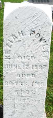 POWLER, KEZIAH - Preble County, Ohio | KEZIAH POWLER - Ohio Gravestone Photos
