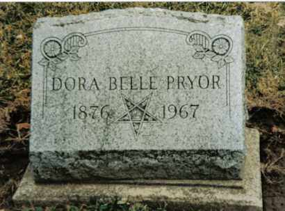 PRYOR, DORA BELLE - Preble County, Ohio | DORA BELLE PRYOR - Ohio Gravestone Photos