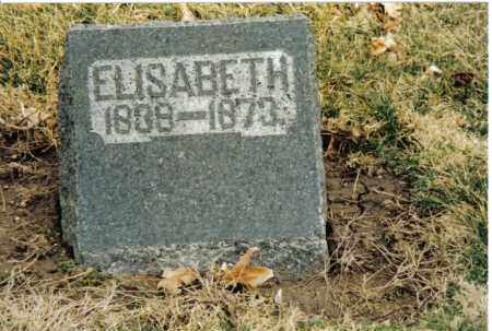 PRYOR, ELISABETH - Preble County, Ohio | ELISABETH PRYOR - Ohio Gravestone Photos