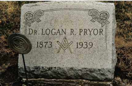 PRYOR, LOGAN R. - Preble County, Ohio | LOGAN R. PRYOR - Ohio Gravestone Photos