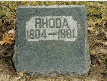 PRYOR, RHODA - Preble County, Ohio | RHODA PRYOR - Ohio Gravestone Photos
