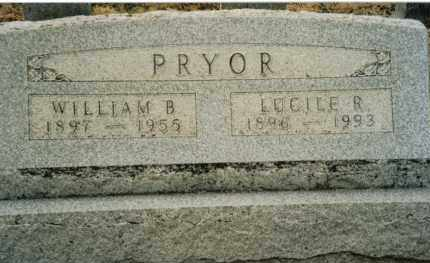 PRYOR, WILLIAM B. - Preble County, Ohio | WILLIAM B. PRYOR - Ohio Gravestone Photos