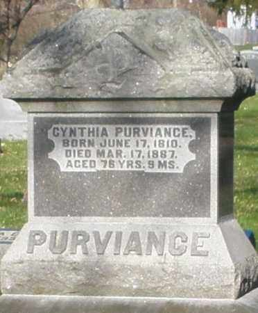 PURVIANCE, CYNTHIA - Preble County, Ohio | CYNTHIA PURVIANCE - Ohio Gravestone Photos