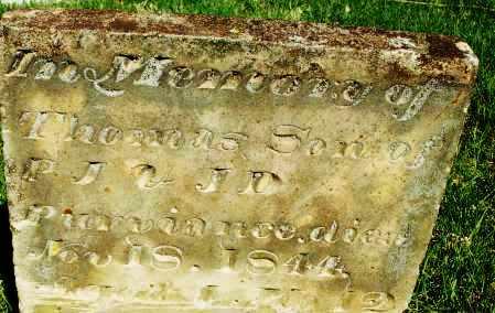 PURVIANCE, THOMAS - Preble County, Ohio | THOMAS PURVIANCE - Ohio Gravestone Photos