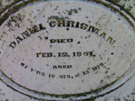 CHRISMAN, DANIEL - Preble County, Ohio | DANIEL CHRISMAN - Ohio Gravestone Photos