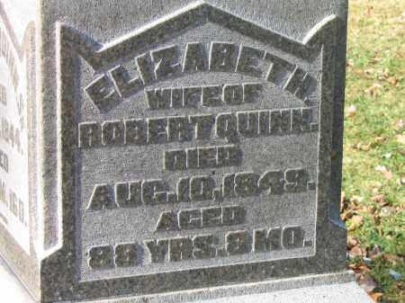 QUINN, ELIZABETH - Preble County, Ohio | ELIZABETH QUINN - Ohio Gravestone Photos